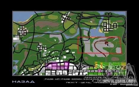 Hidden Dragon para GTA San Andreas sucesivamente de pantalla