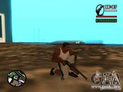 Gangster Weapon Pack para GTA San Andreas quinta pantalla