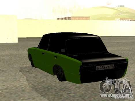 HUlK 2106 VAZ para GTA San Andreas left