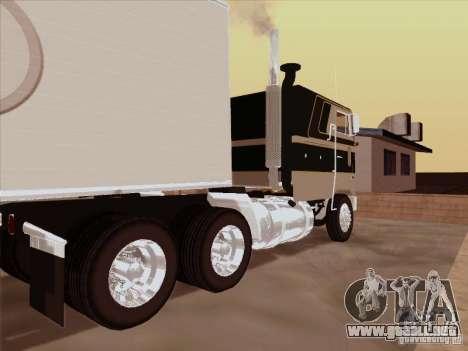 Peterbilt 352 para la visión correcta GTA San Andreas