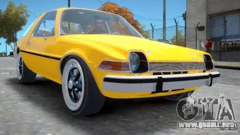 AMC Pacer 1977 v1.0 para GTA 4