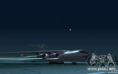 IL 78 petrolero para visión interna GTA San Andreas