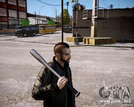 Niko - Hooligan para GTA 4 adelante de pantalla