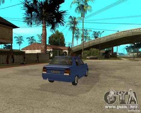 ZAZ 1103 Slavuta para GTA San Andreas vista posterior izquierda