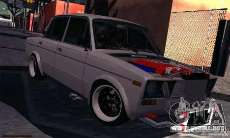 VAZ 2106 Turbo para GTA San Andreas left