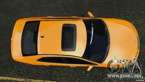 Saab 9-3 Turbo X 2008 para GTA 4 visión correcta