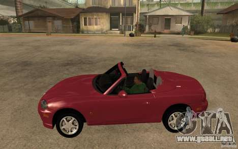 Mazda MX5 - Stock para GTA San Andreas left
