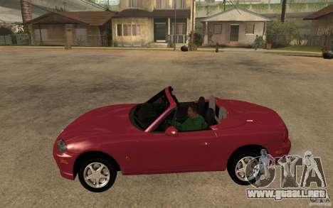 Mazda MX5 - Stock para GTA San Andreas left