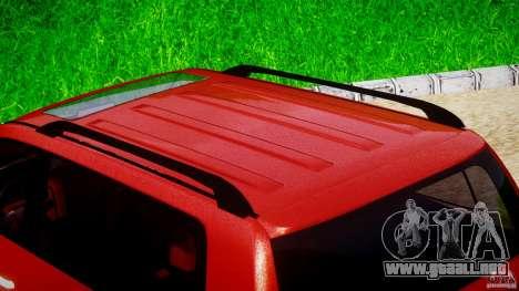 Toyota Land Cruiser 200 2007 para GTA 4 vista desde abajo