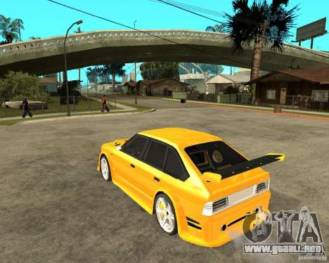 Moskvich 2141 STR (HARD TUNING) para GTA San Andreas left