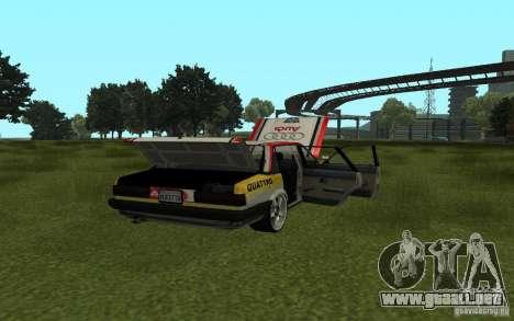 Audi 80 Quattro Rally para GTA San Andreas left