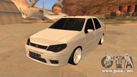 Fiat Albea para GTA San Andreas