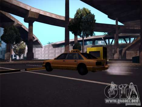ENBSeries by CatVitalio para GTA San Andreas tercera pantalla
