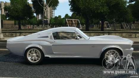 Shelby GT 500 Eleanor para GTA 4 left
