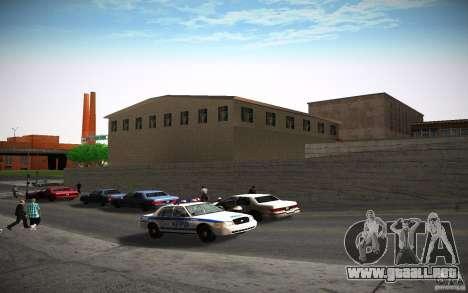 Departamento de bomberos de HD para GTA San Andreas octavo de pantalla