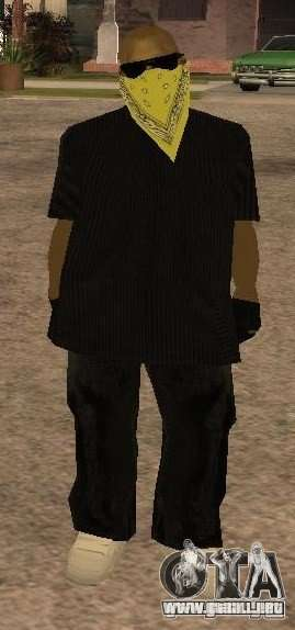 Nuevos aspectos banda Vagos para GTA San Andreas segunda pantalla