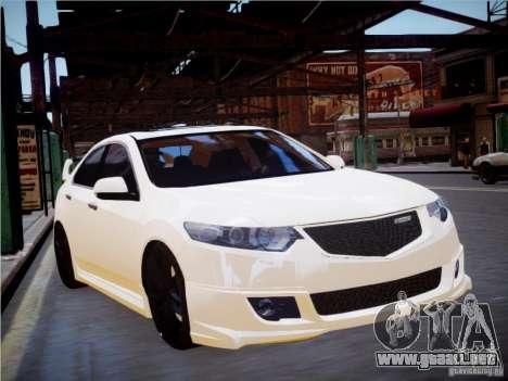 Honda Accord Mugen para GTA 4 Vista posterior izquierda