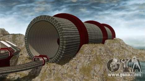 Stunt Speedway Park para GTA 4 tercera pantalla