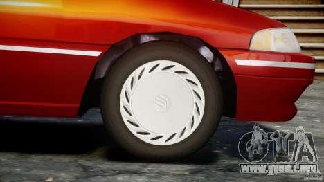 Mercury Tracer 1993 v1.0 para GTA 4 ruedas