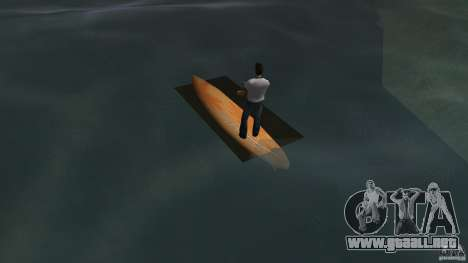 Surfboard 2 para GTA Vice City vista lateral izquierdo
