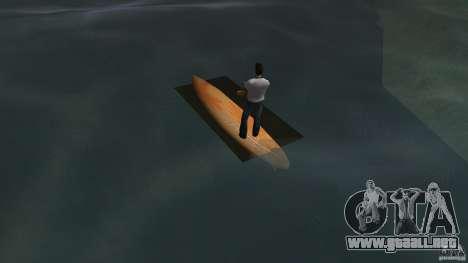 Surfboard 2 para GTA Vice City vista lateral izquierdo