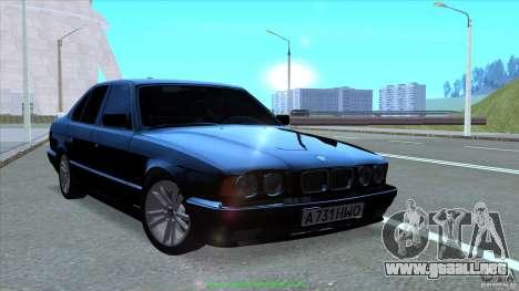 BMW E34 V1.0 para la vista superior GTA San Andreas