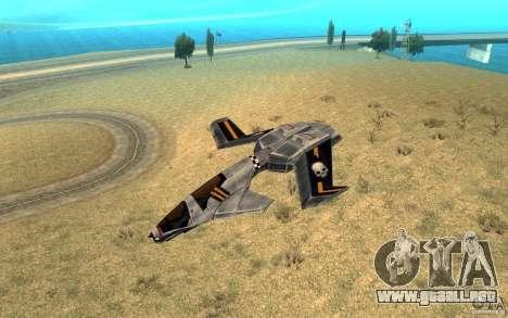 Hawk air Command and Conquer 3 para GTA San Andreas