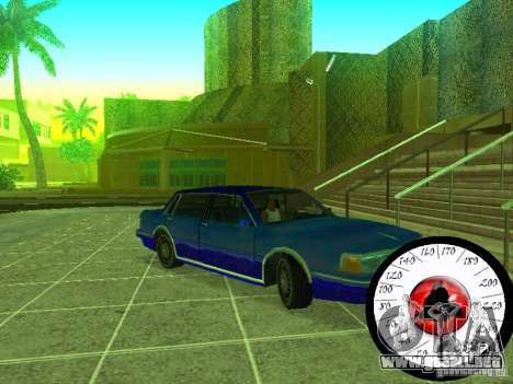 Nuevo Cpidometr para GTA San Andreas tercera pantalla