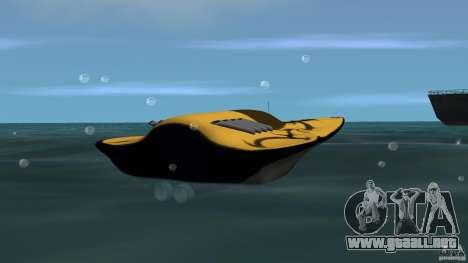 X-87 Offshore Racer para GTA Vice City vista lateral izquierdo