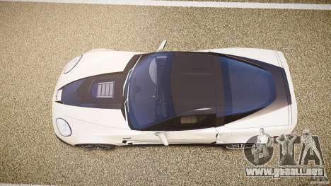 Chevrolet Corvette ZR1 2009 para GTA 4 visión correcta