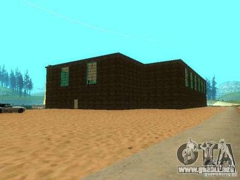 Tricking Gym para GTA San Andreas quinta pantalla