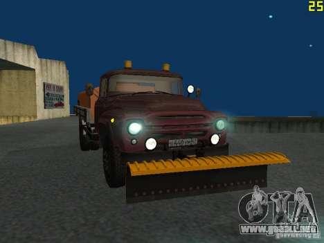 Ko-829 en beta chasis de camión ZIL-130 para visión interna GTA San Andreas