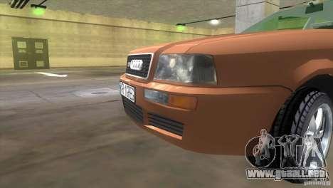 Audi S2 para GTA Vice City vista lateral izquierdo