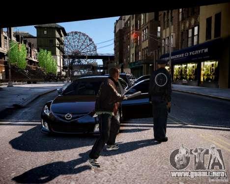 Bad Niko para GTA 4 adelante de pantalla