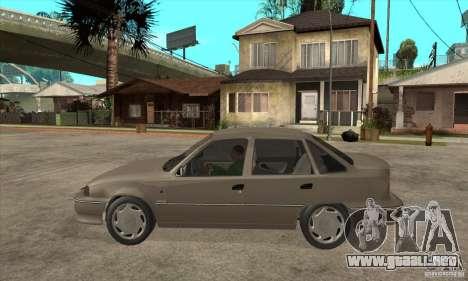 Daewoo Nexia Dohc 2009 para GTA San Andreas left