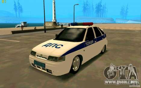 Policía Vaz-2112 para GTA San Andreas
