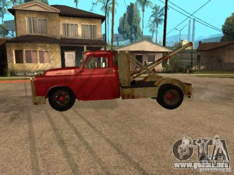 Camioneta Dodge está oxidado para GTA San Andreas left