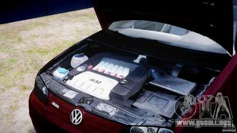 Volkswagen Golf IV R32 v2.0 para GTA 4 vista lateral