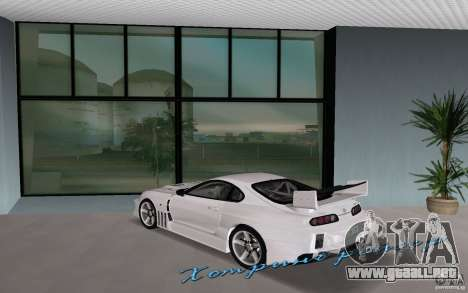 Toyota Supra Chargespeed para GTA Vice City left