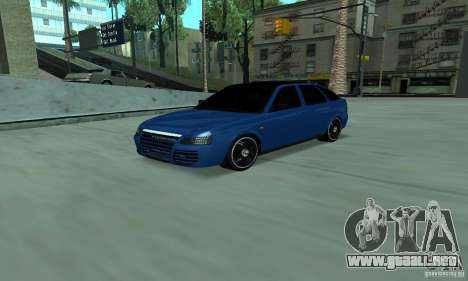 Lada Priora 2012 para GTA San Andreas
