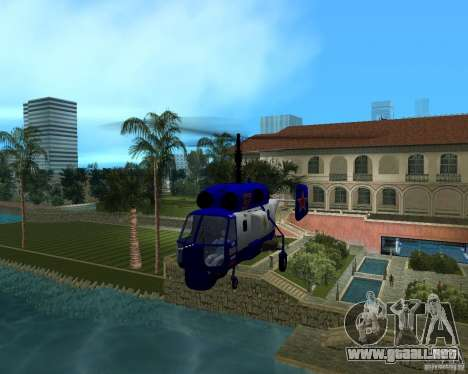 Ka-27 para GTA Vice City vista lateral izquierdo