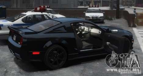 Saleen S281 Extreme Unmarked Police Car para GTA 4 visión correcta