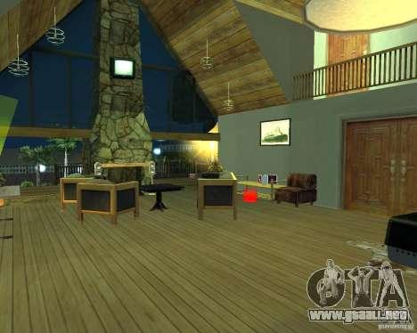 Nueva villa de CJ para GTA San Andreas