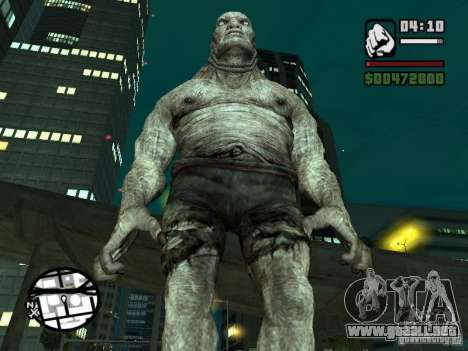 Actualizado Pak personajes de Resident Evil 4 para GTA San Andreas tercera pantalla