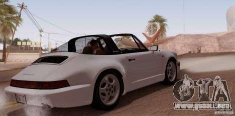 Porsche 911 Carrera 4 Targa (964) 1989 para la visión correcta GTA San Andreas
