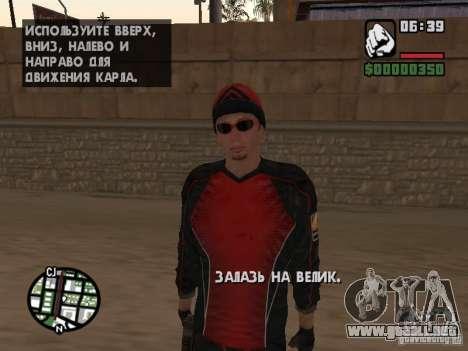 Skydiver para GTA San Andreas