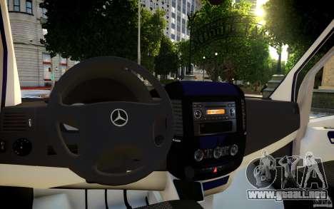 Mercedes-Benz Sprinter Passenger para GTA motor 4
