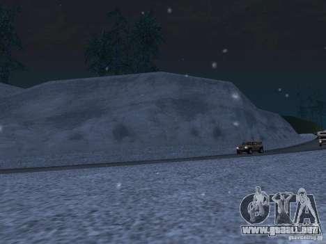 Nieve para GTA San Andreas séptima pantalla