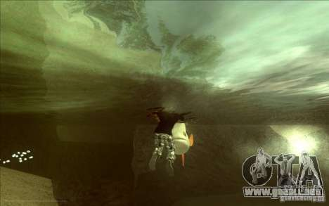 IDE en lugar de los delfines para GTA San Andreas segunda pantalla
