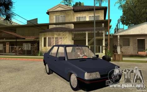 Renault 9 Mod 92 TXE para GTA San Andreas vista hacia atrás